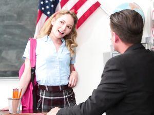 Schoolgirl Gets An A For Fucking Her Teacher