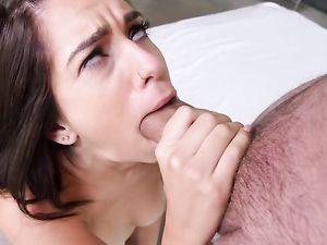 Big Facial Cumshot On A Well Fucked Teen Girl