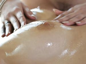 Massage Oil Makes For A Hot Hardcore Threesome