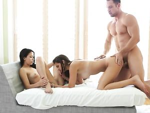 Screwing Latin Teens And Busting A Big Sticky Nut