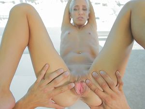 Blonde Teen Cunt Stretched By A Big Cock