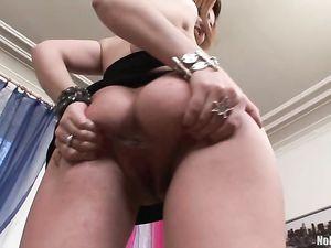 Pierced Puffy Tits Girl Fucking Big Dildos