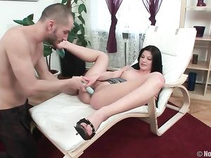 Long Legged Teenager Toyed And Taken Anally By Her Man