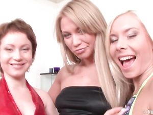Crazy Ass Fisting With A Trio Of Lesbian Teens