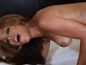 Black Dick Sucking Lips On This Oiled Up Cock Whore