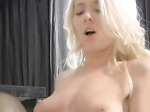 Taut Blonde Beauty Makes Love To His Big Uncut Cock