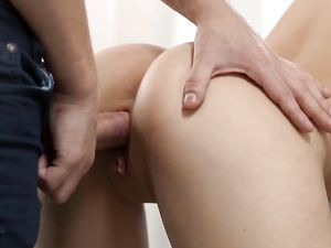 Skinny Seductress Rides Him To A Hot Creampie