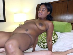 All Natural Curves On A Horny Black Hardcore Slut
