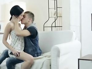 Sultry Russian 18 Year Old In A Foreplay Scene