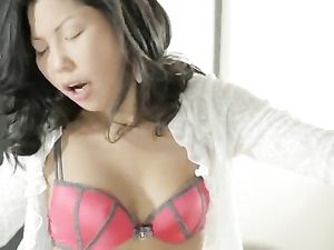 Cocksucking Asian Beauty Arouses Him For Anal Sex