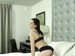 Teen Worships Cock And Fucks In The Hotel Bed