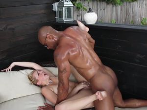 Black Dick Is All That White Girl Tiffany Stone Wants