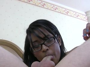 Black Teen Nerd Fucked And Facialized