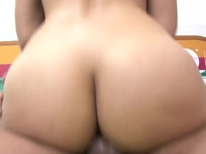 Big Latin Ass Is Breathtaking On A Cock Riding Slut