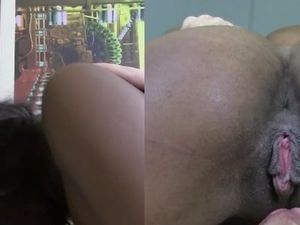 Amateur Black Girl Balled Bareback By A White Dude