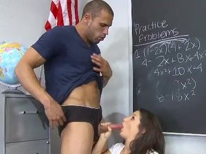 Big Teacher Cock For The Curvy Schoolgirl