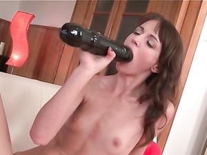 Toy Fucking Teen Spreads Her Legs Wide Open