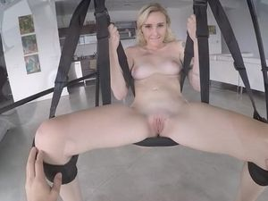 Fuck Your Hot Girlfriend In The Sex Swing