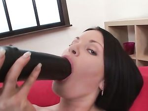 Anal Whore Will Take Anything Up Her Asshole