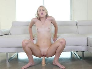 Young Pussy Looks So Tight As His Big Cock Fucks Her