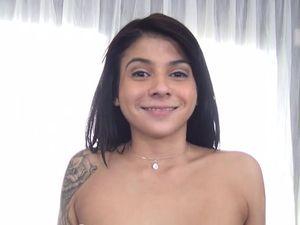 Tattooed Cutie Sadie Pop Is His Petite Dream Slut