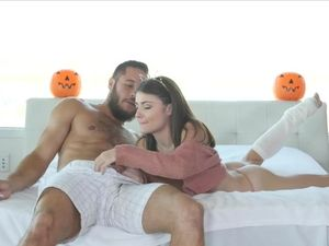 Fucking Cute Beauty Adria Rae On Halloween