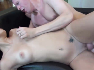 Teen Takes A Relentless Fucking From An Older Guy